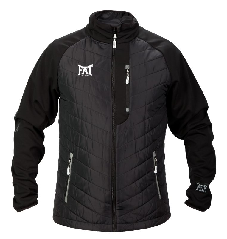 GILLEN-HYBRID JACKET 116100 BLACK