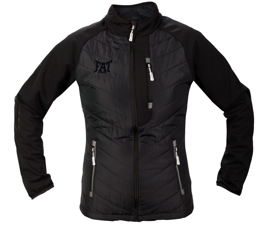 GILLIAN-LADIES HYBRID JACKET 116120 BLACK