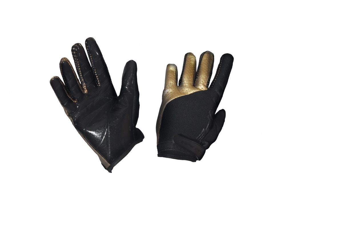 GK-GLOVES WITH SILICONE 517500 BLACK_GOLD