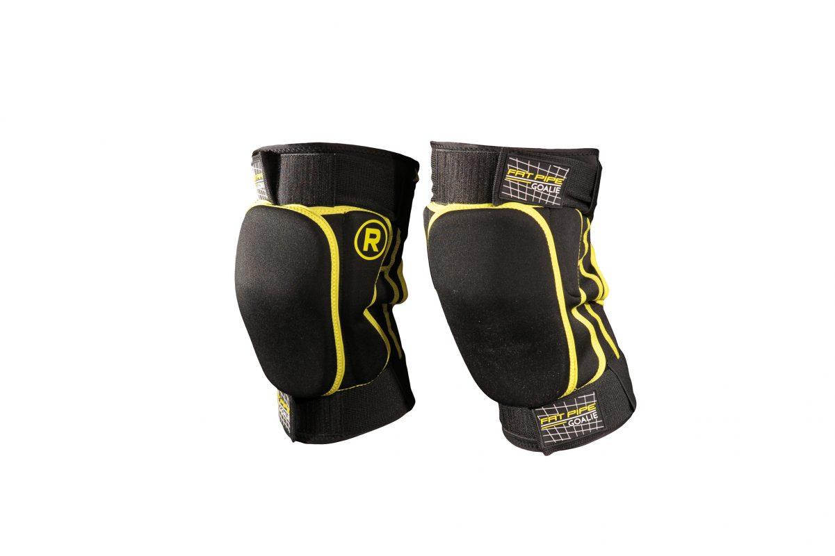 GK-KNEE PADS, SHORT516507black_yellow