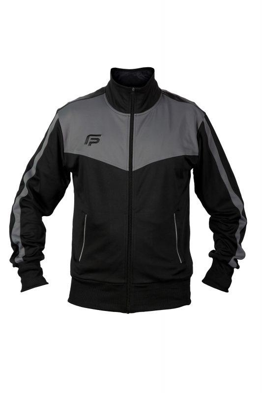 TRAVON-TRACK JACKET 117113 BLACK
